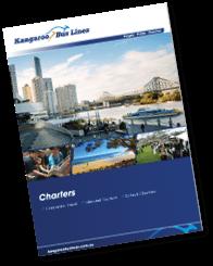 School Charters Kangaroo Bus Lines