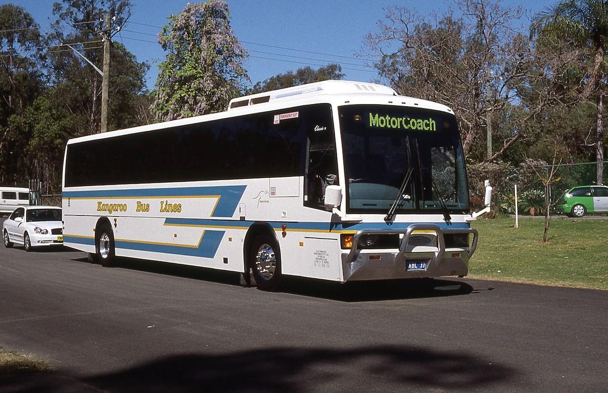 Kangaroo Bus Lines History