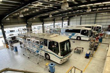 Kangaroo Bus Lines Depot